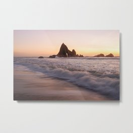 Martins Beach - Halfmoon Bay, CA Metal Print