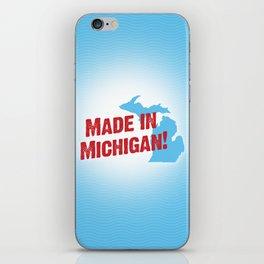 Made in Michigan iPhone Skin