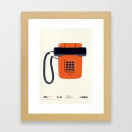 Telephone Eta80 - Iskra Framed Art Print