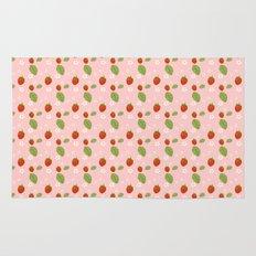 Strawberry Plant Rug