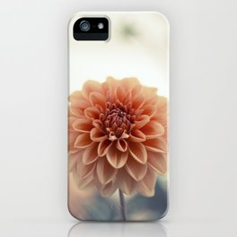 Dahlia Flower iPhone Case