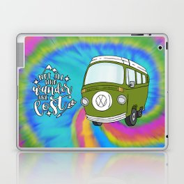 Camper Bus Not All Who Wander Are Lost Laptop & iPad Skin