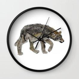 Wolf cub - Louveteau - Lobezno - Lobacho Wall Clock