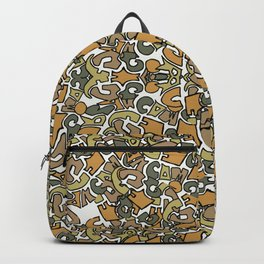 Urban Camouflage Backpack