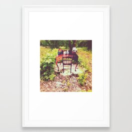 nature is the workplace Framed Art Print