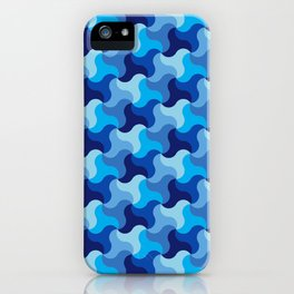 All-Blue Alhambra iPhone Case