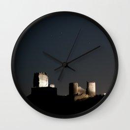 Castle & moon Wall Clock