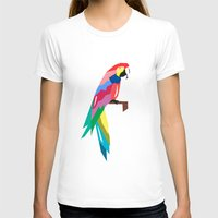 parrot T-shirts featuring parrot by mark ashkenazi
