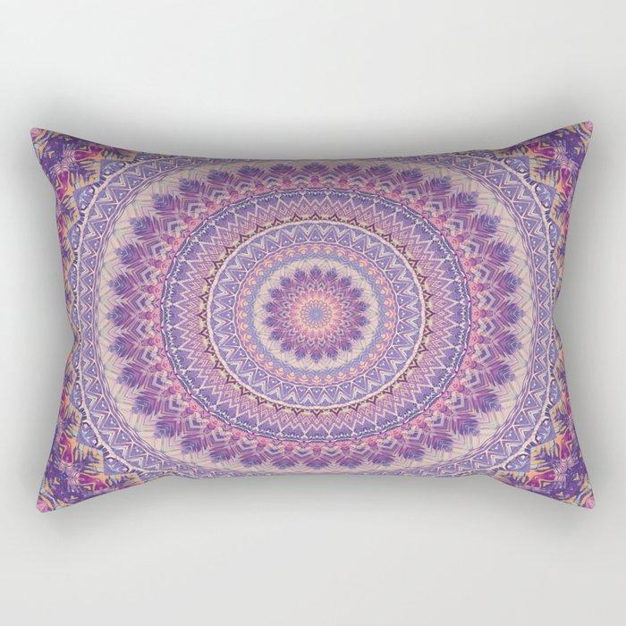 Mandala 489 Rectangular Pillow
