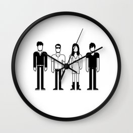The Pains of Being Pure at Heart Wall Clock