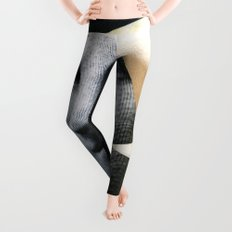 Untitled (Painted Composition 8) Leggings