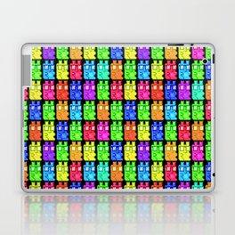 Pixel Gummy Bears Laptop & iPad Skin