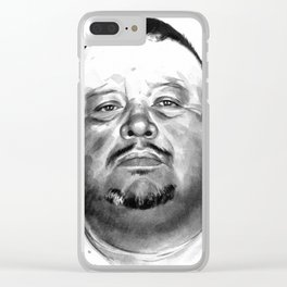 David Martinez mugshot Clear iPhone Case