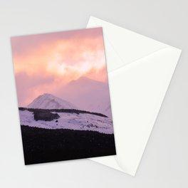 Rose Quartz Turbulence - III Stationery Cards