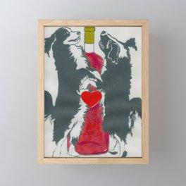 Our Love Is Like Fine Wine Framed Mini Art Print