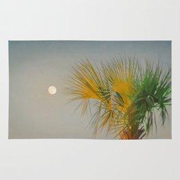 Moon and Palm Rug