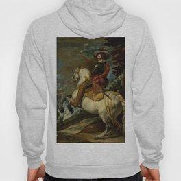 "Diego Velázquez ""Don Gaspar de Guzmán (1587–1645), Count-Duke of Olivares"" Hoody"