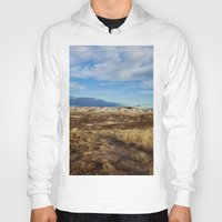 arizona Hoodies featuring Arizona by Ian Bevington