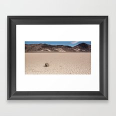 A Rock that moves Framed Art Print