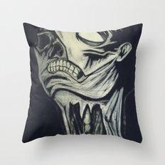 Phantom of the Undead Throw Pillow