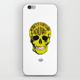 Fortune Favours The Brave. iPhone Skin