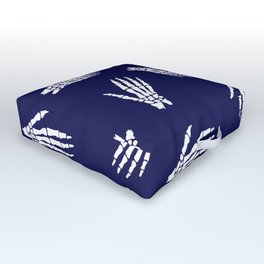 Anatomical Hand Bones Outdoor Floor Cushion