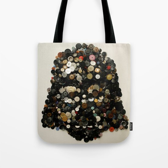 Darth Buttons Tote Bag