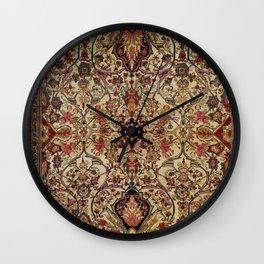 Lavar Kirman Southeast Persian Rug Print Wall Clock