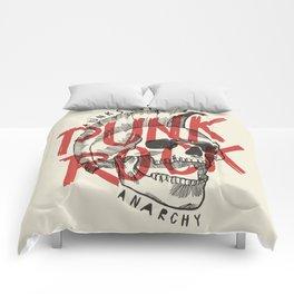 Punk Rock Skull Comforters