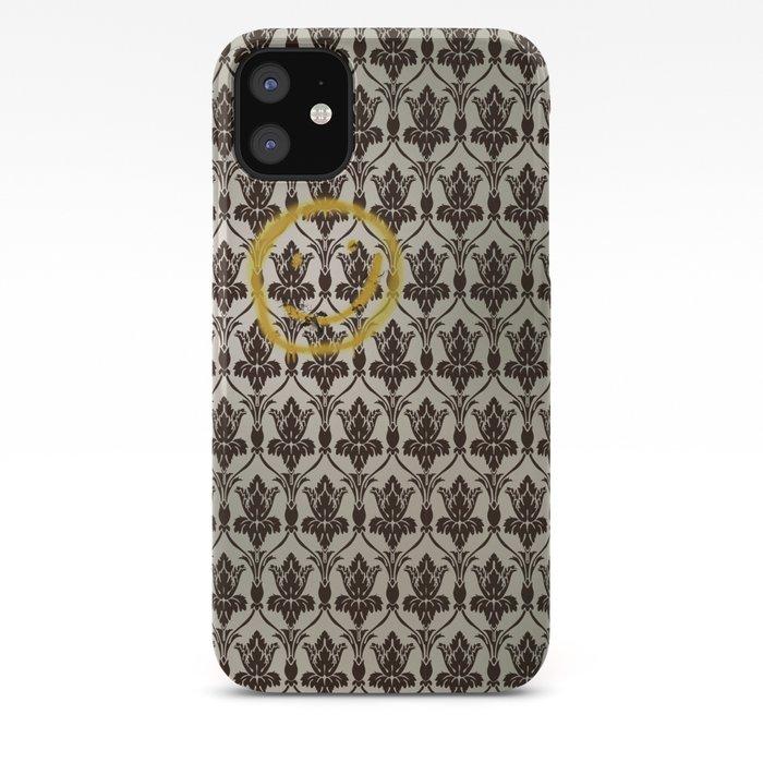 Sherlock Wallpaper Light Iphone Case By Mellymellow