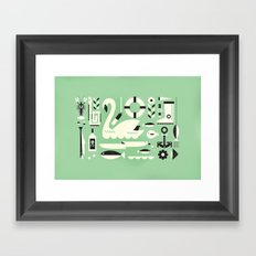 Lake ... Framed Art Print
