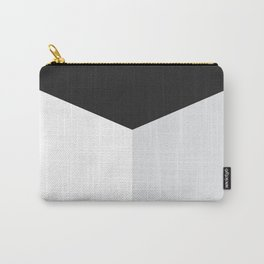 Blocked Grey Carry-All Pouch