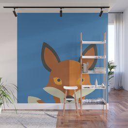 What does the fox say? Wall Mural