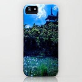 Lake House Landscape iPhone Case