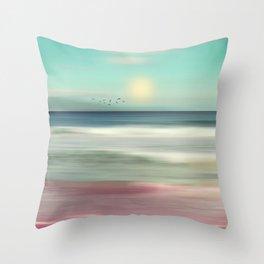 OCEAN DREAM IV-B Throw Pillow