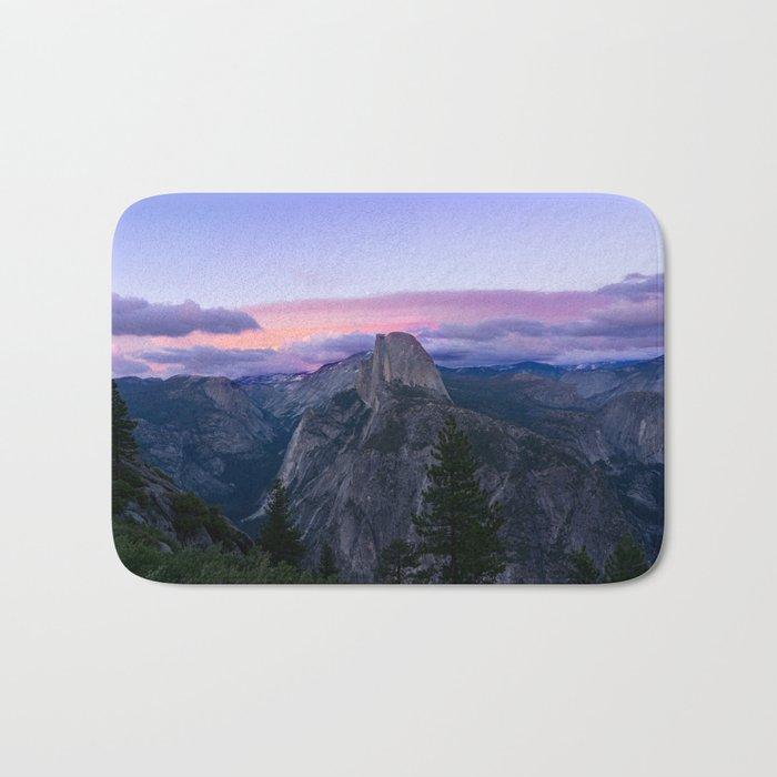 Yosemite National park #society6 Bath Mat