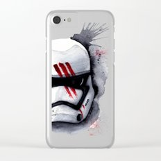 Finn Stormtrooper Traitor StarWARS The Force Awakens The Empire Clear iPhone Case
