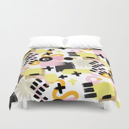 Perception Abstract 001 Duvet Cover