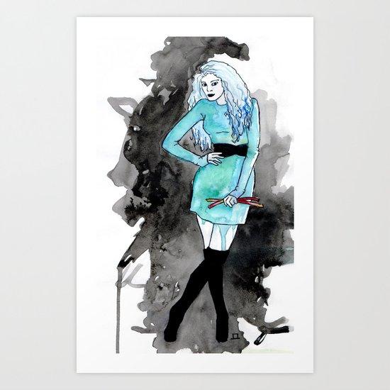 From a Land Far Far Away Art Print