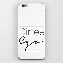 Dirt. iPhone Skin