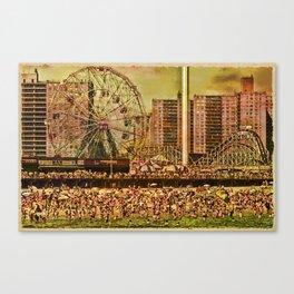 Coney Island Summer Canvas Print