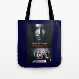Those Rosy Hours Tote - blue Tote Bag