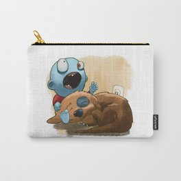 Zombies like to bite stuff too. Carry-All Pouch