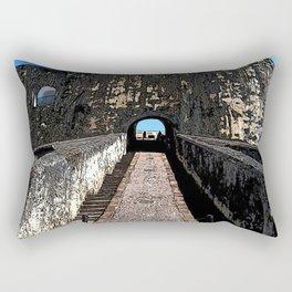 Castillo San Felipe del Morro Rectangular Pillow
