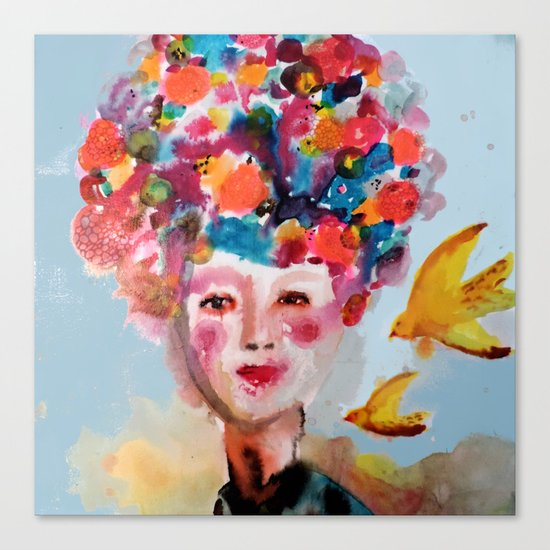 mariette Canvas Print