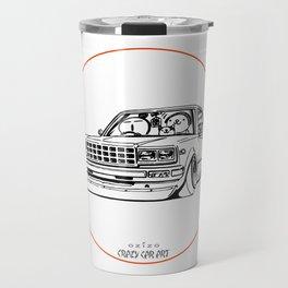 Crazy Car Art 0210 Travel Mug