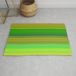 green colors horizontal Rug