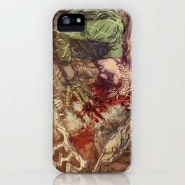 Scary Monster iPhone Case