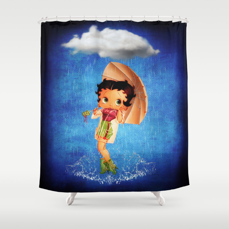 Betty Boop Shower Curtain