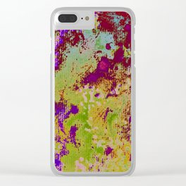 efflorescent #21.2 Clear iPhone Case